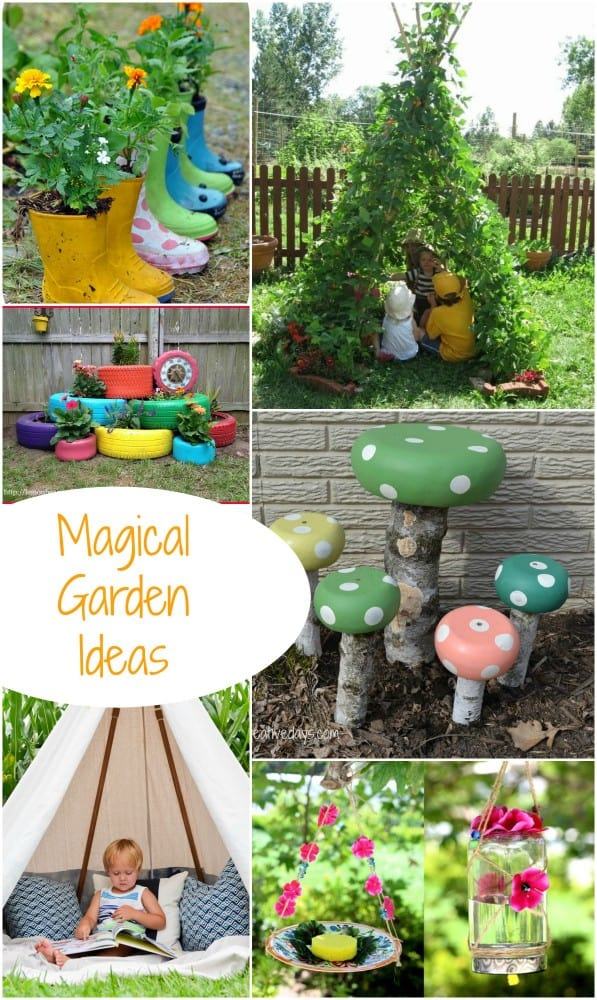 Magical Garden Inspiration. Great DIY Garden Ideas! - Emma Owl on Magical Backyard Ideas id=19051