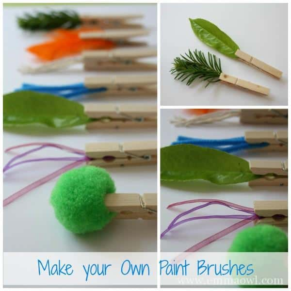 Make your own Paintbrushes