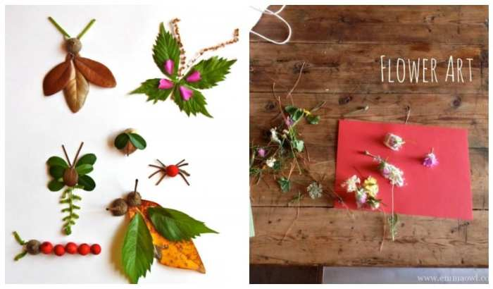 Leaf and Flower Art - inspired by nature