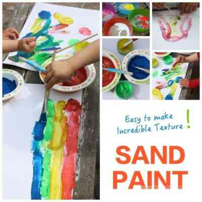 Sand Paint - Easy to Make - Incredible Texture