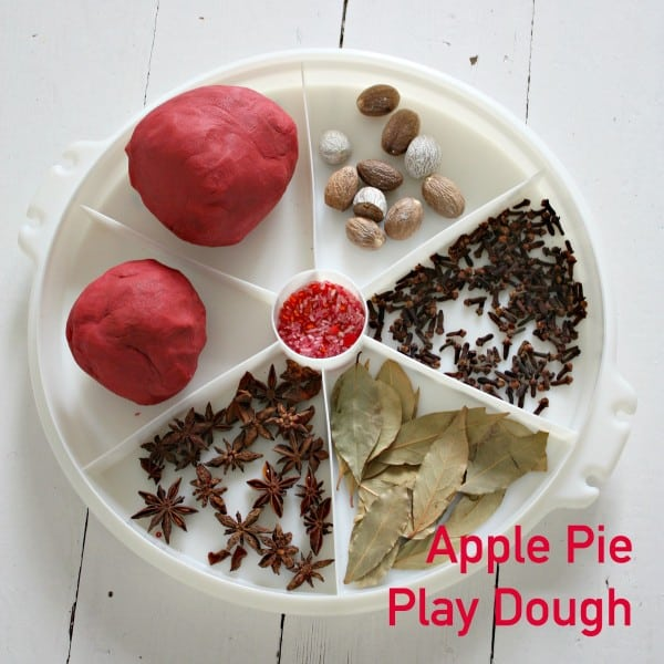 Apple Pie Play Dough