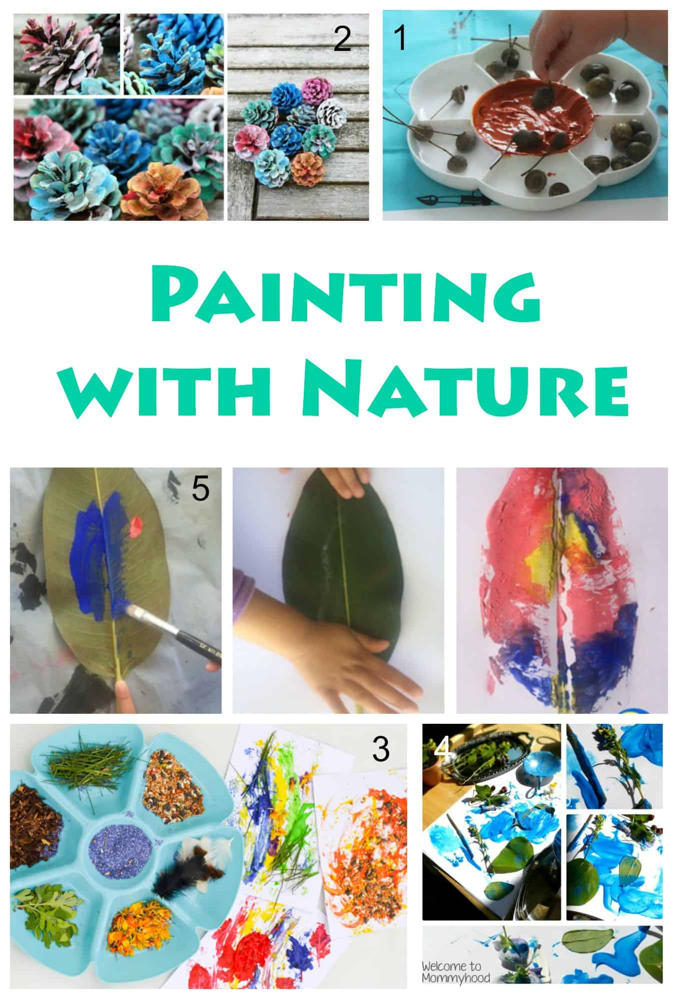 natural craft ideas 171 painting ideas techniques and projects for 2536