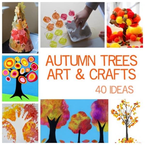 Autumn Tree Art Ideas