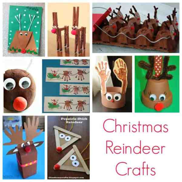 Christmas Reindeer Crafts for Kids