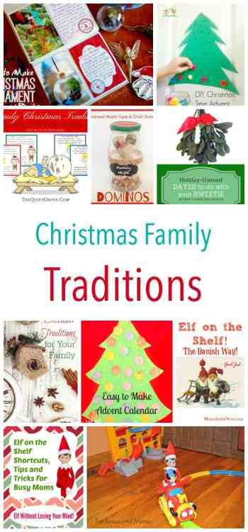 Great Ideas for Christmas Family Traditions!