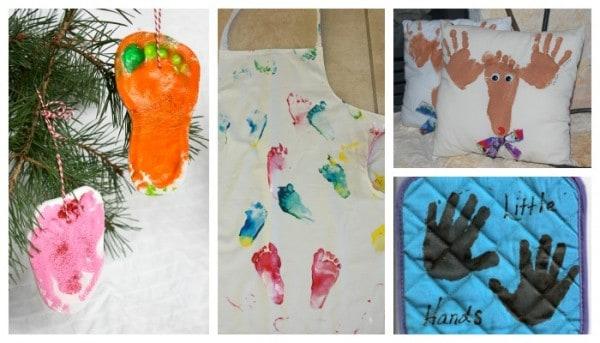 Handprint Gift Ideas for Christmas