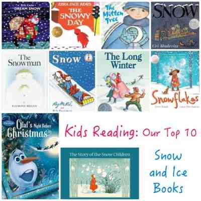 Our Top 10 Snow and Ice Books
