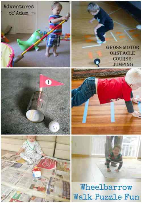 Indoor Fun for Winter to keep those bodies moving