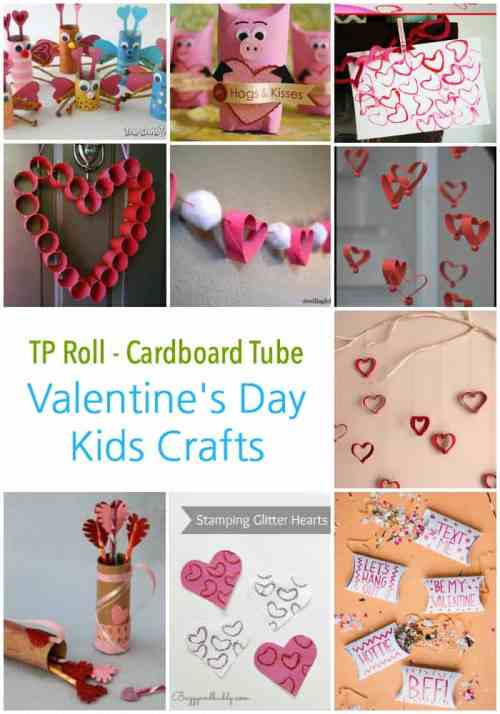 Recycled Kids Crafts For Valentine S Day Emma Owl