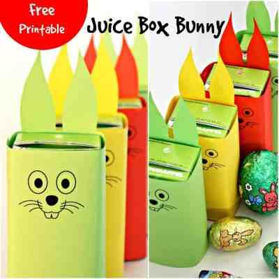 Juice Box Bunny Free Printable
