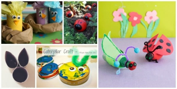 recycled animal crafts