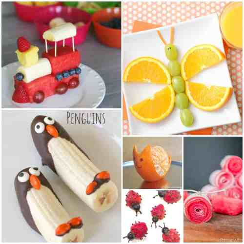Fun Fruit snacks for kids