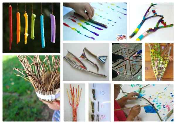 Stick and Activity Ideas