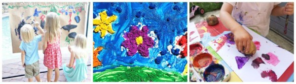 Painting iDeas for Kids - over 200 ideas