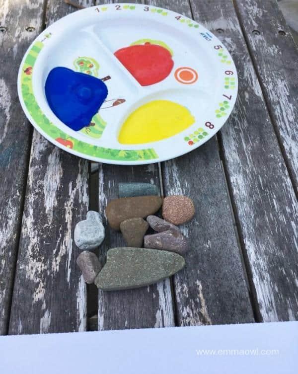 Setting Up Process Art for Children