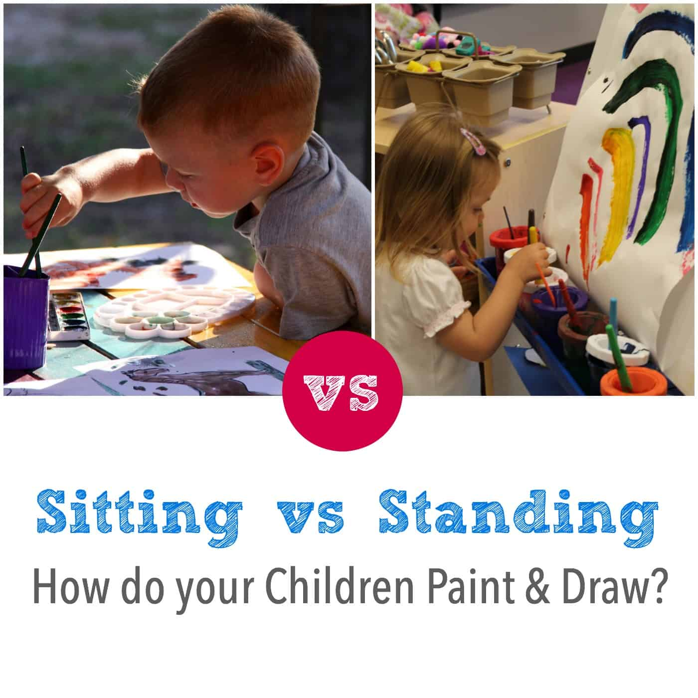 Sitting Or Standing The Best Way To Paint And Draw Emma Owl