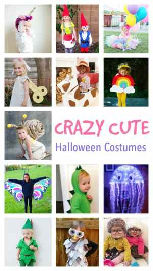 CRAZY Cute Ideas for Kids Halloween Costumes
