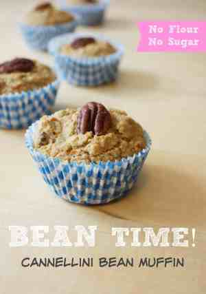 Great tasting - Easy to Make - Healthy Snack Recipe! Try making this Cannelloni Bean Muffin Today! The Kids will love it!
