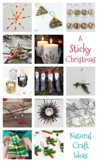 natural-sticky-craft-ideas-for-christmas-for-the-whole-family-to-make