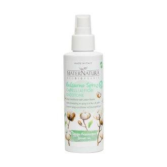 Balsamo Spray senza risciacquo ai fiori di Cotone