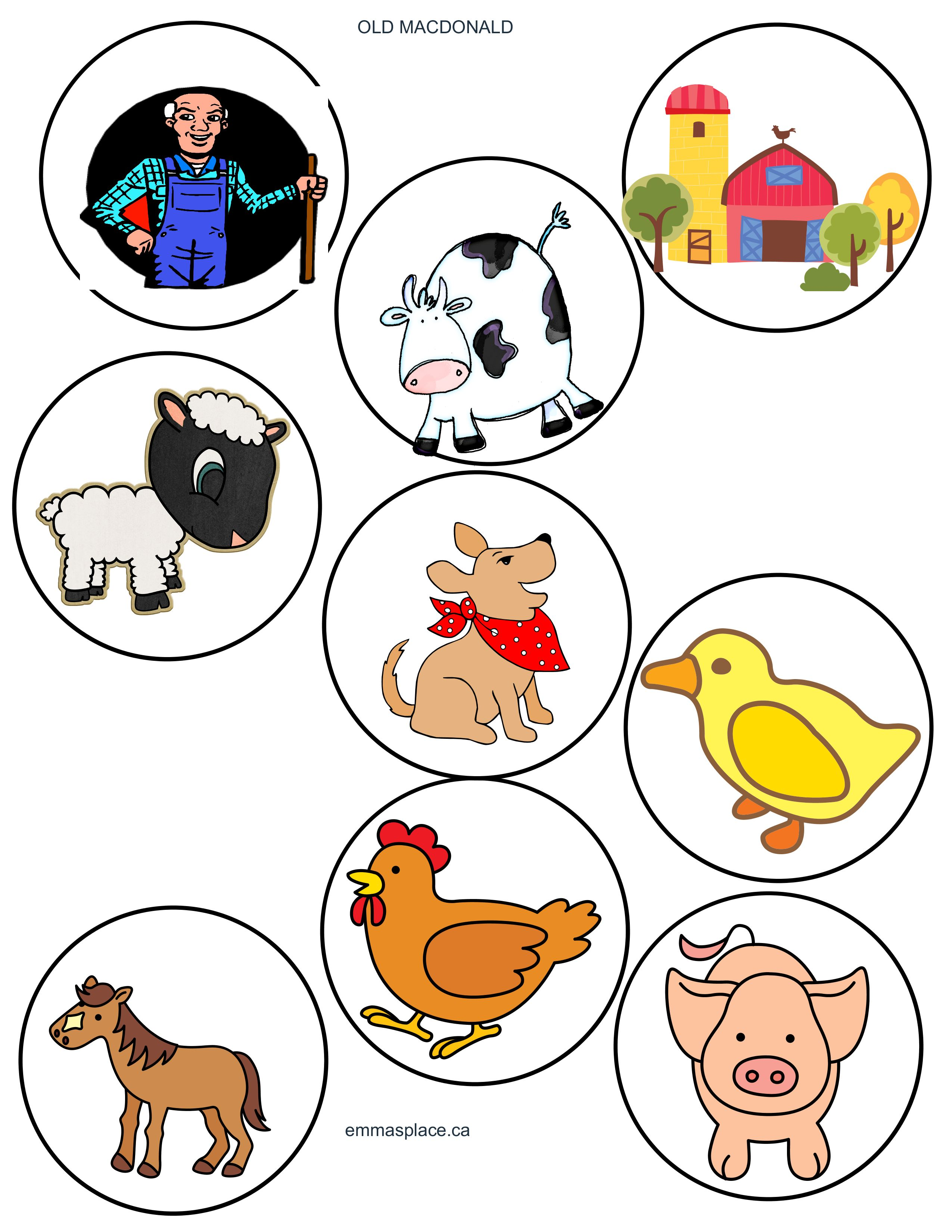 Farm Animals Songs