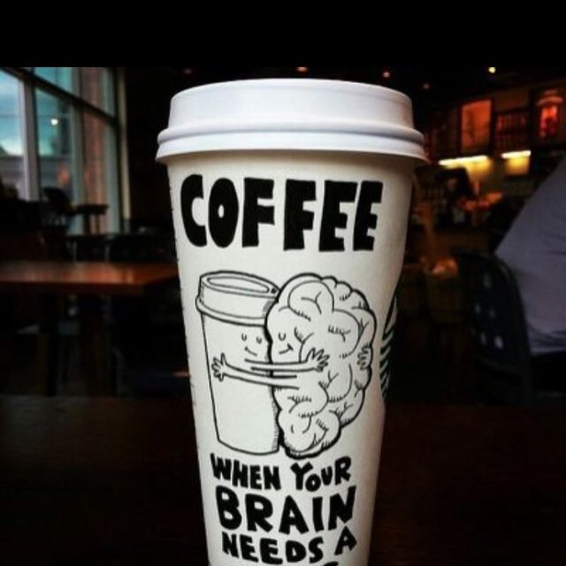 My brain requires a big hug! afternooncaffeinefix