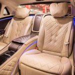 Mercedes classe S passo lungo