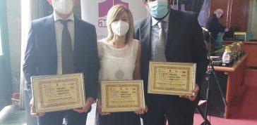Tre medici della Asl teramana premiati per l'impegno contro il Coronavirus