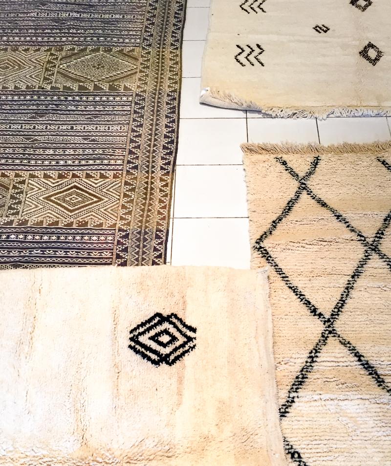 Moroccan rugs - Beni Ourain & Kilim