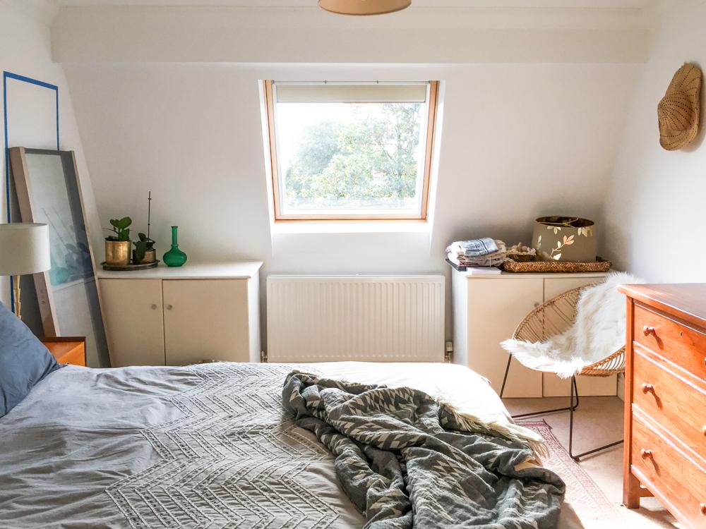 One Room Challenge Bedroom Progress -3