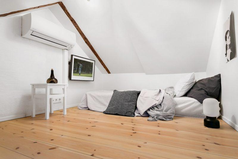 Neutral Scandinavian Apartment Stockholm Bedroom 3