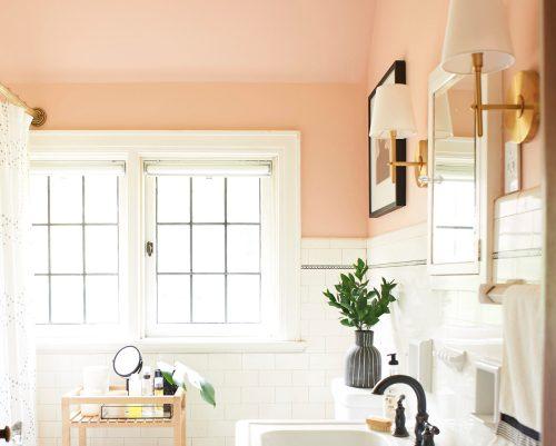 Pink Bathroom by The Sweet Beast