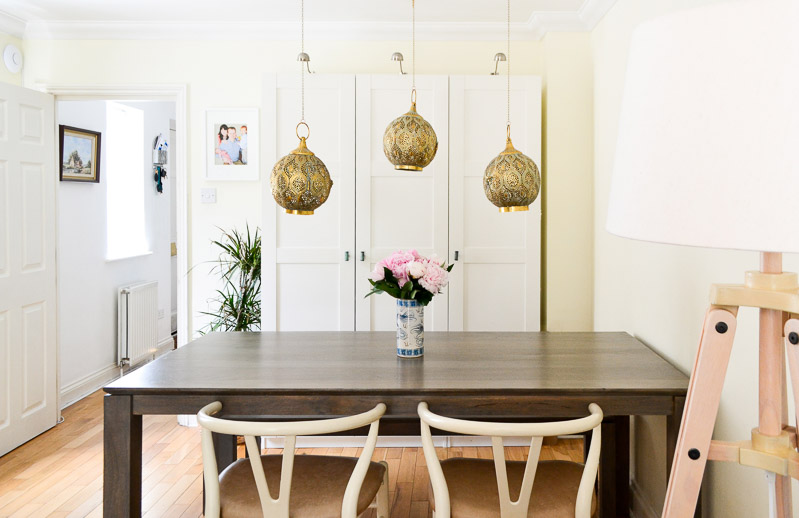 Modern Midcentury Global Dining Area - #summer17electichometour-1