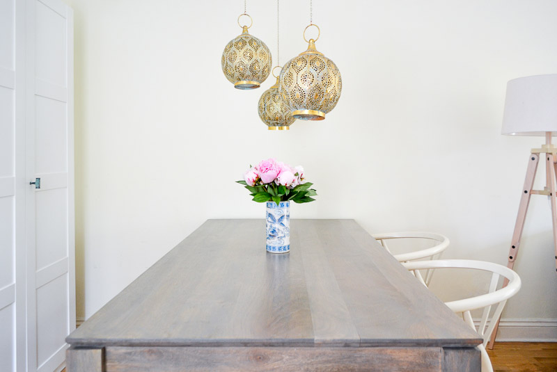 Modern Midcentury Global Dining Area - #summer17electichometour-3
