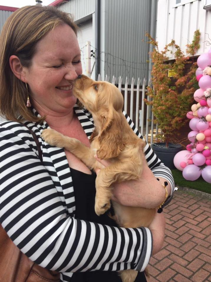 Puppy Kisses from Bailey at Sweetpea & Willow