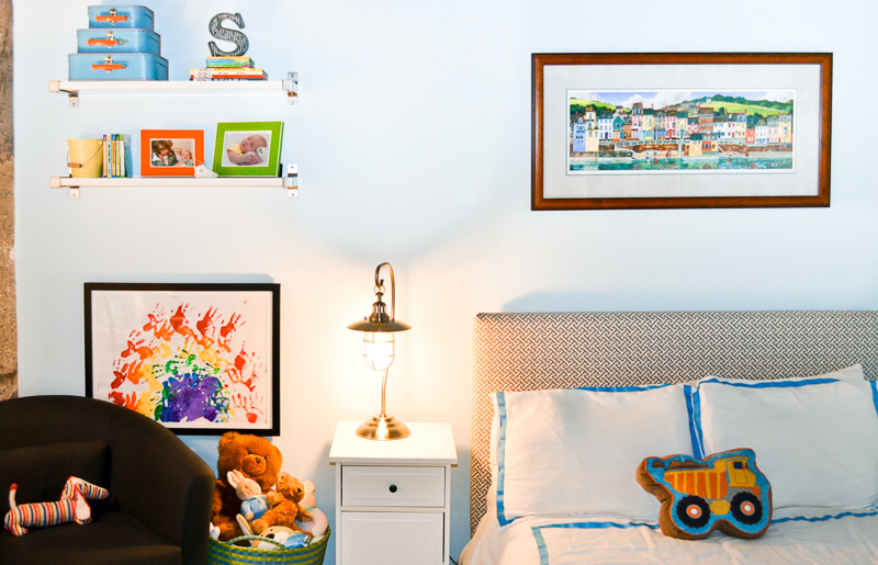 Bright toddler bedroom reveal