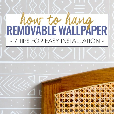 How to Hang Removable Wallpaper - Tips for Easy Installation