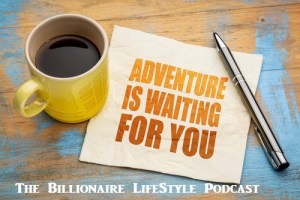 Adventure is waiting for you POster and cup of Coffee