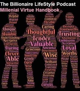 Millenial Virtue handbook infographic