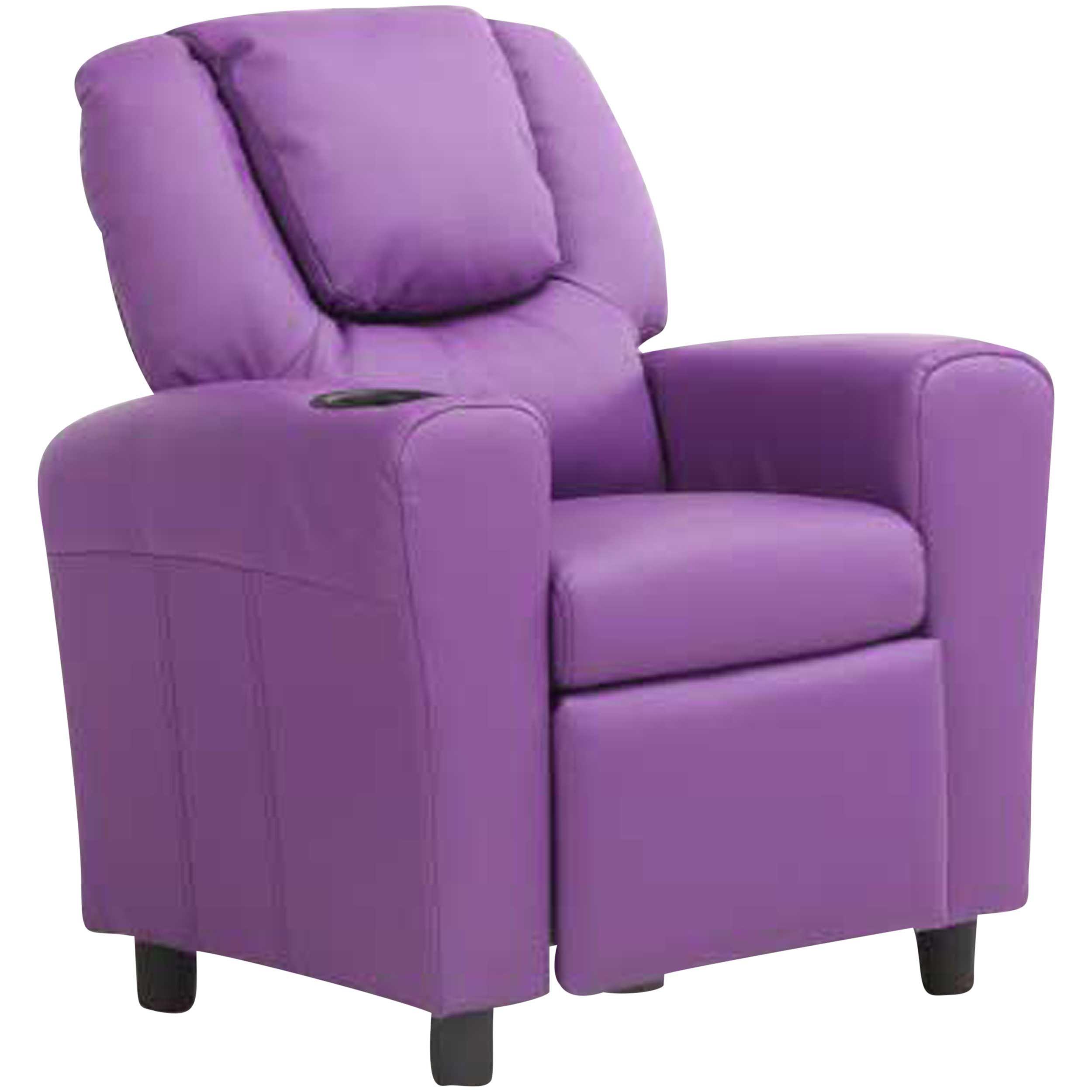 fauteuil relax pour enfants rex violet