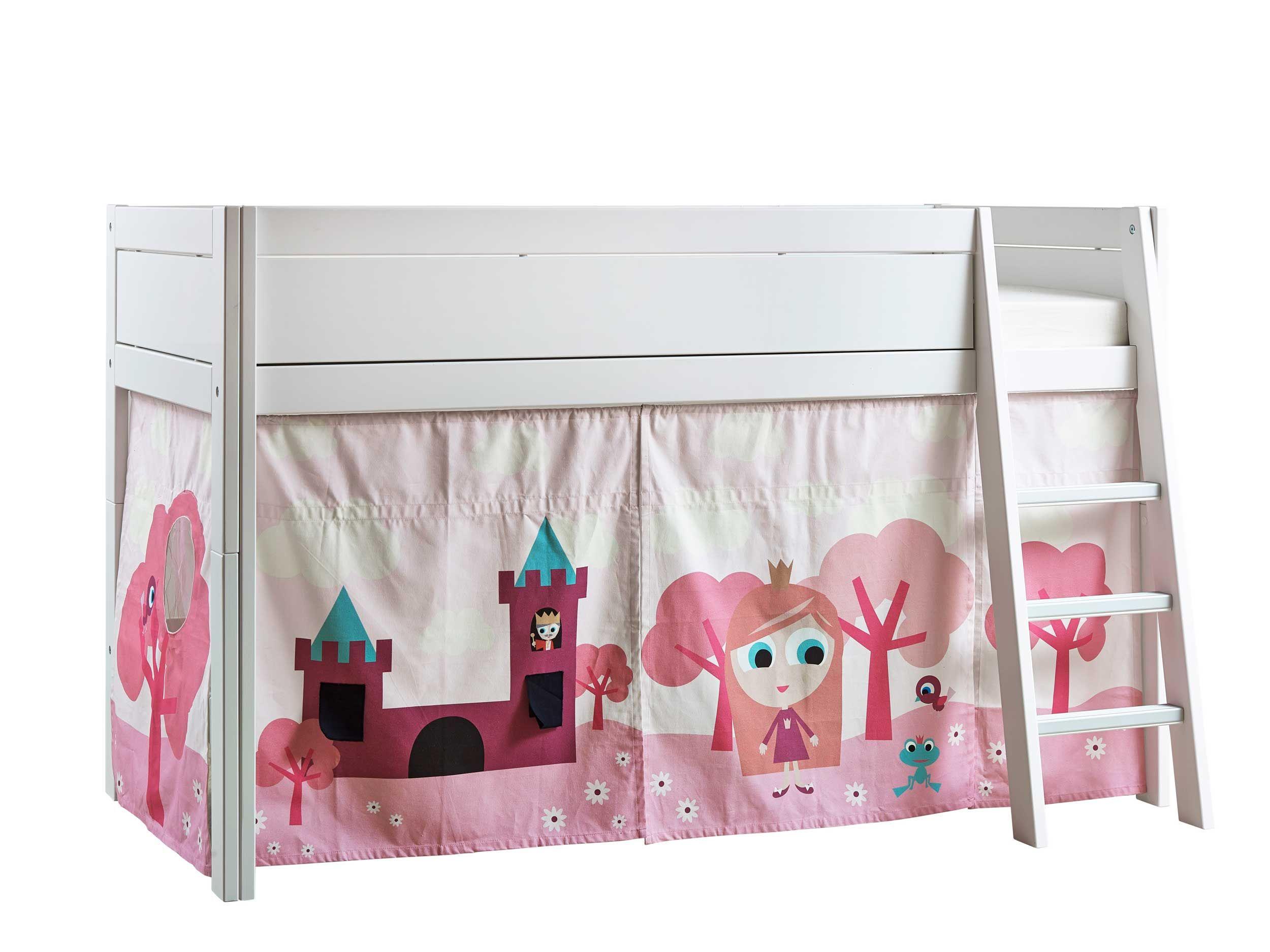 tente de lit petite princesse pour lit mi hauteur