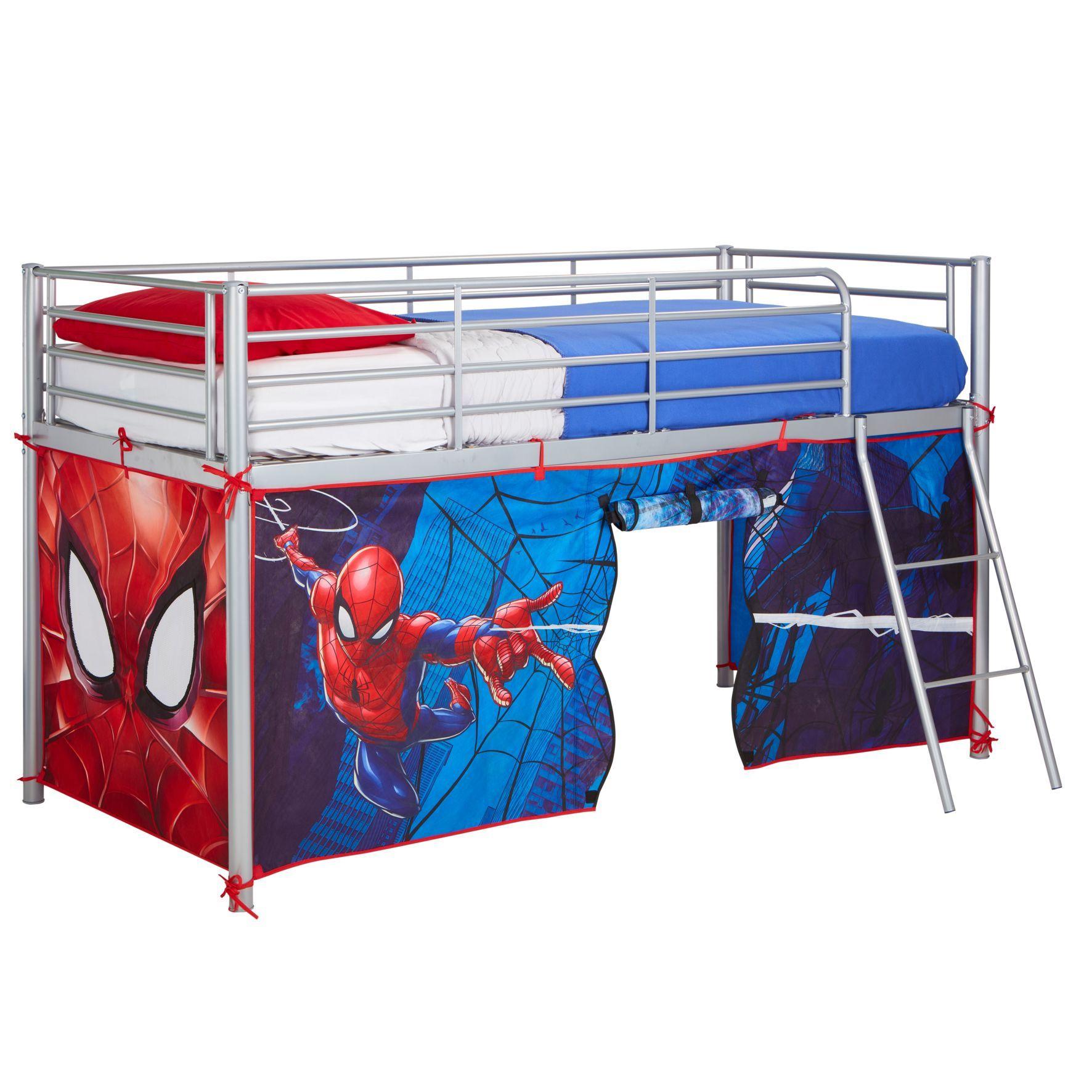 tente de lit spider man