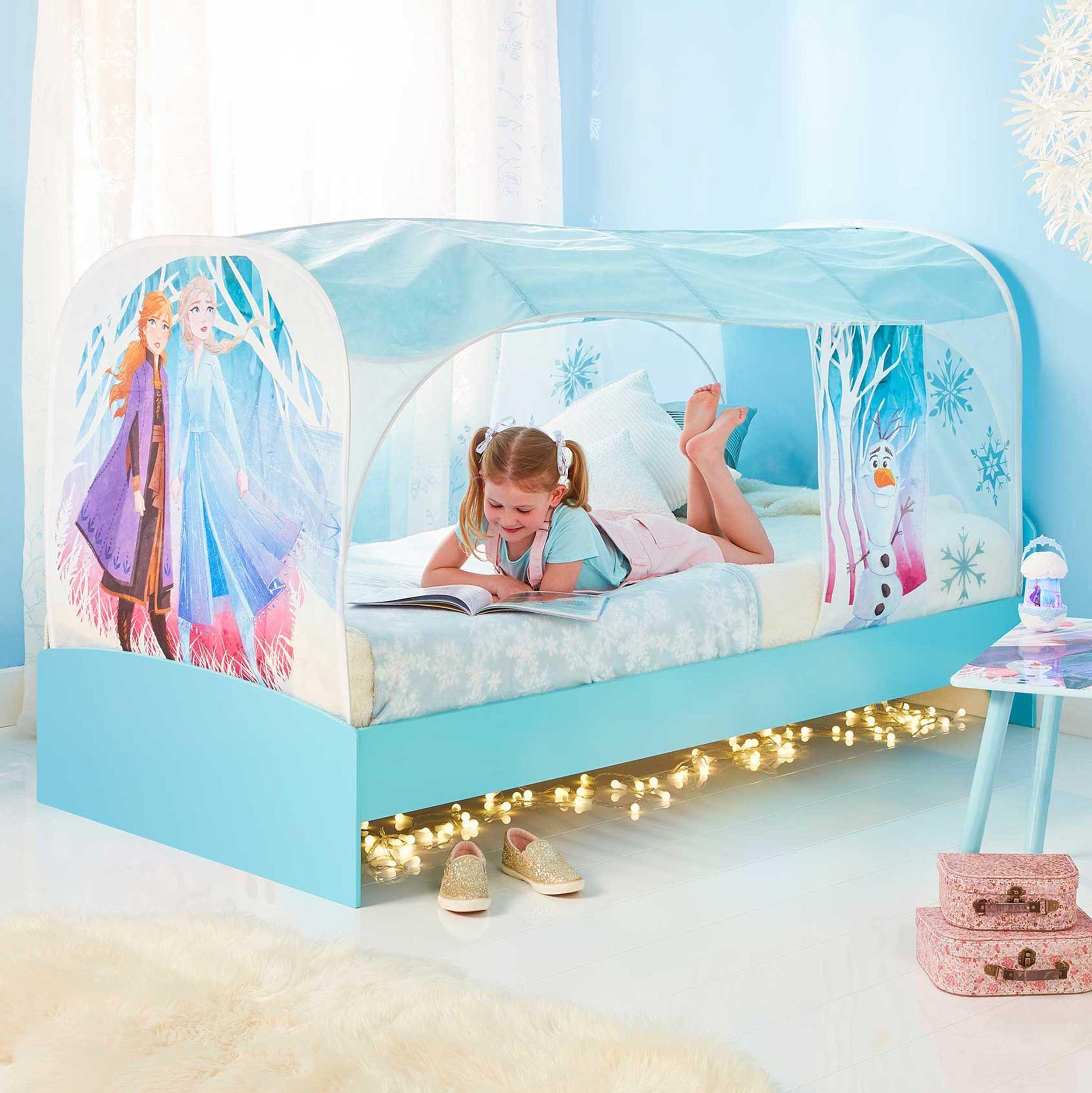tente de lit la reine des neiges ii