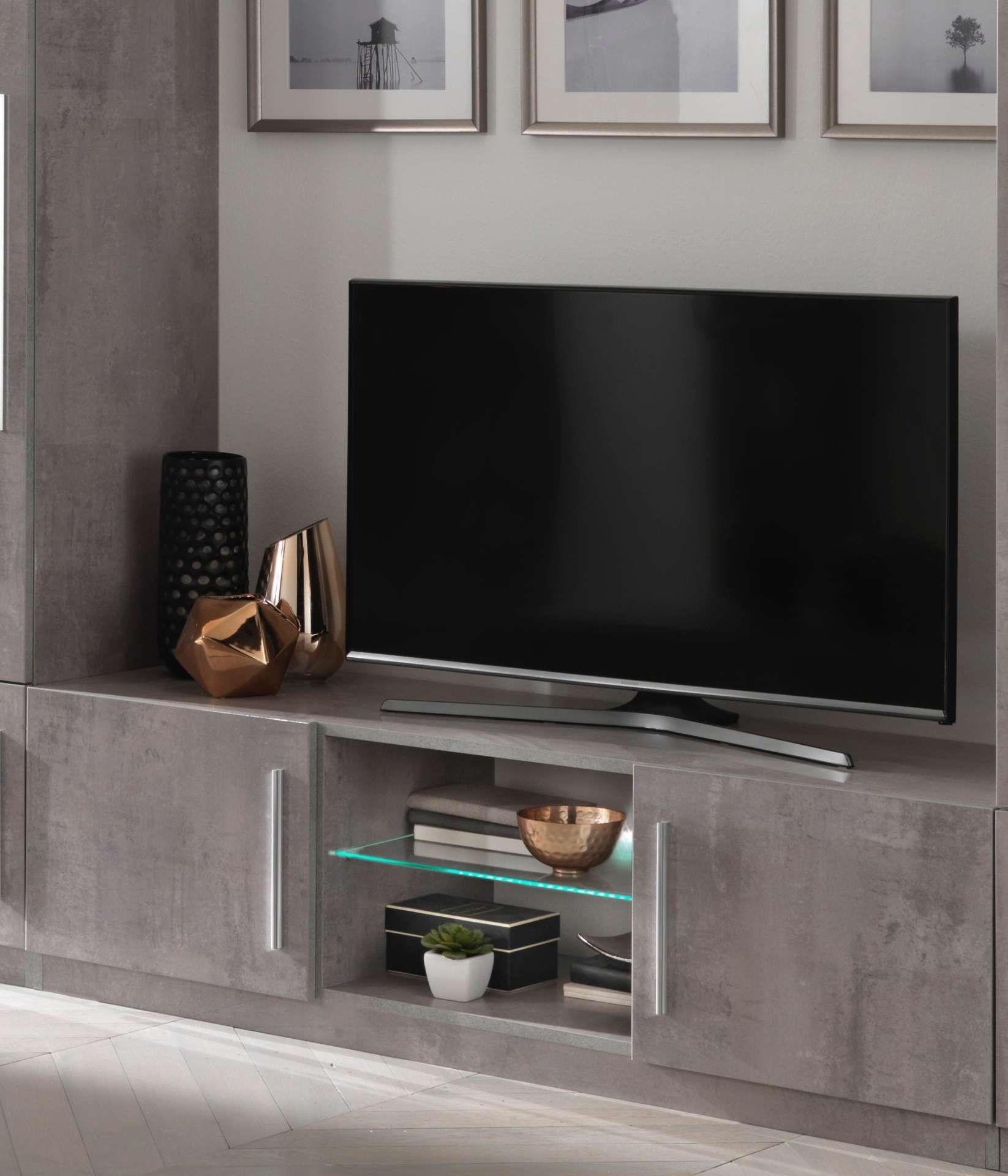 meuble tv greta 156 cm beton