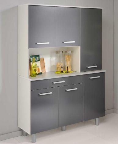 gris armoires de cuisine pas cher