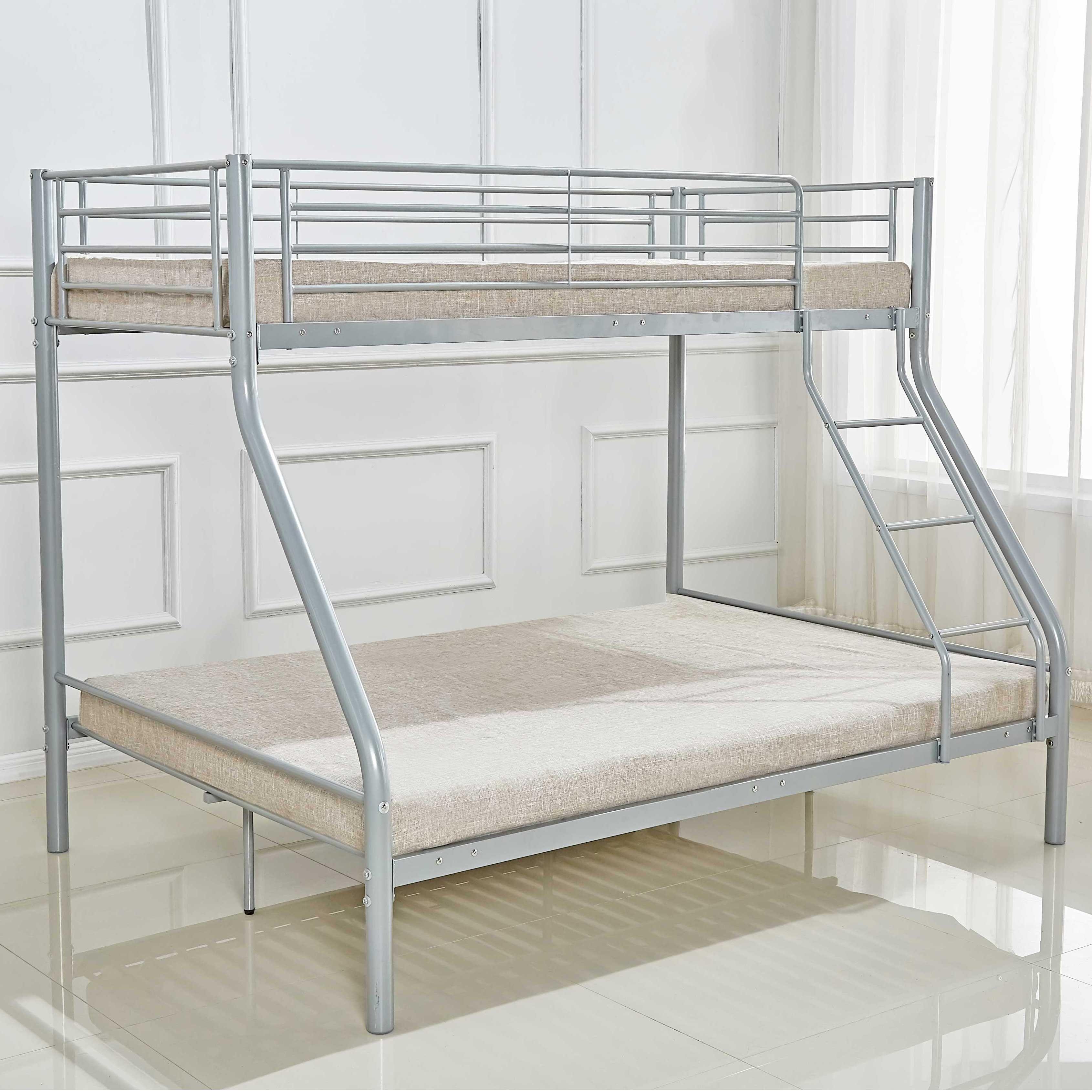 lit superpose pour 3 personnes en metal trio 90 140