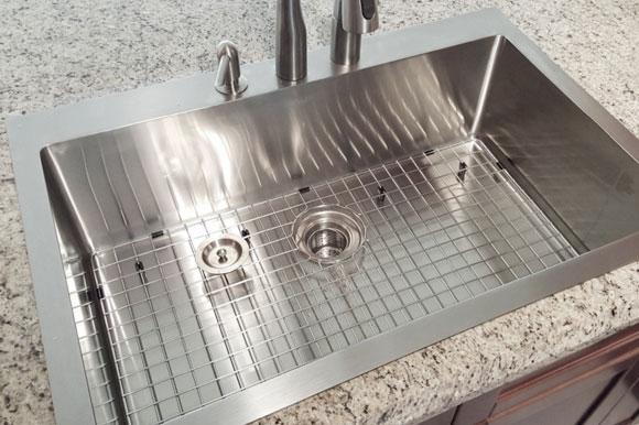top mount kitchen sinks drop in