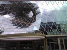 Strange, strange buildings.