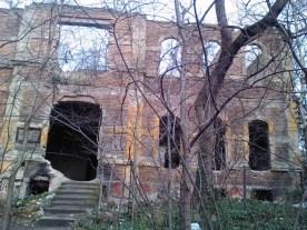 Random abandoned building.