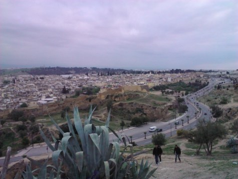Looking over Fes.